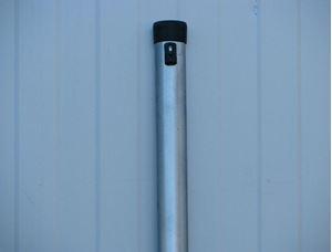Obrázek z Plotový sloupek pozinkovaný – délka 2000 mm Ø 38 mm