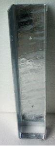 Obrázek z Stabilizační držák koncový pro podhrabové desky vysoké 200 mm