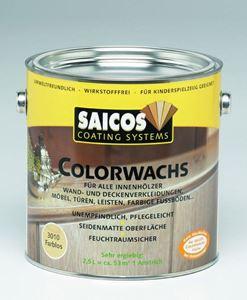 Obrázek z SAICOS barevný vosk klasik interiér bílá krycí