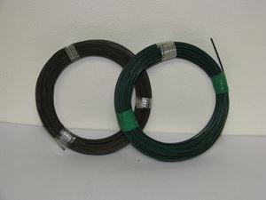 Obrázek z Poplastovaný vázací drát  2,0 mm zelený, balení 30 bm
