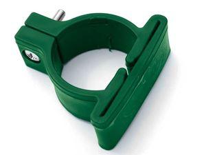 Obrázek z Objímka z PVC k uchycení panelů LIGHT na sloupky Ø 48 mm, zelená