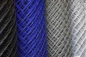 Obrázek z Poplastované pletivo modré 150 cm vysoké