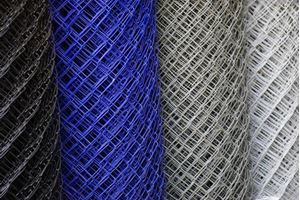 Obrázek z Poplastované pletivo modré 160 cm vysoké