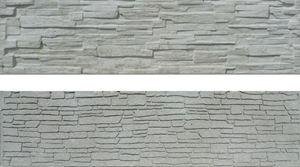 Obrázek z Betonová plotová deska, oboustranná, štípaný kámen 200 x 50 x 4,5 cm