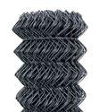 Obrázek Poplastované pletivo Antracit 100 cm vysoké kompaktní role bez napínacího drátu
